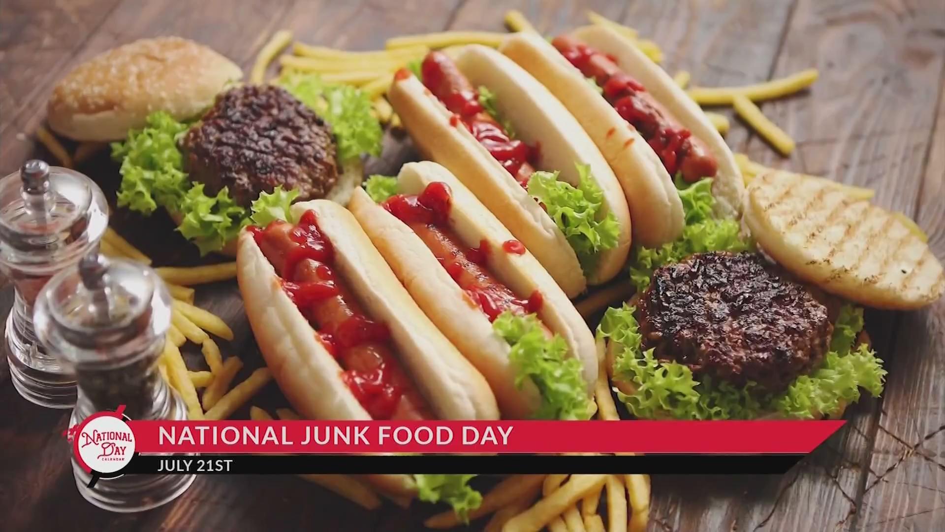 NATIONAL DAY CALENDAR National Junk Food Day KX NEWS 1920x1080