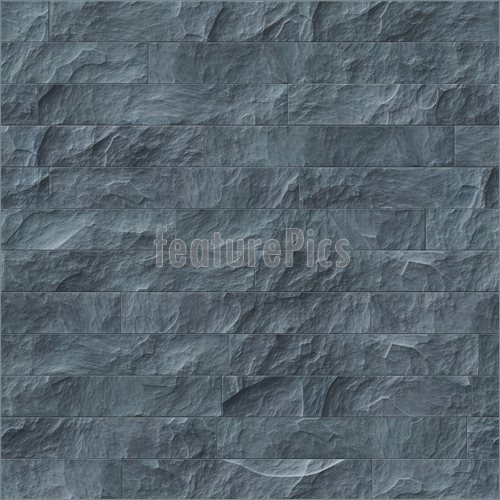 of Gray Brick Wall    An image of a grey brick wall background 500x500