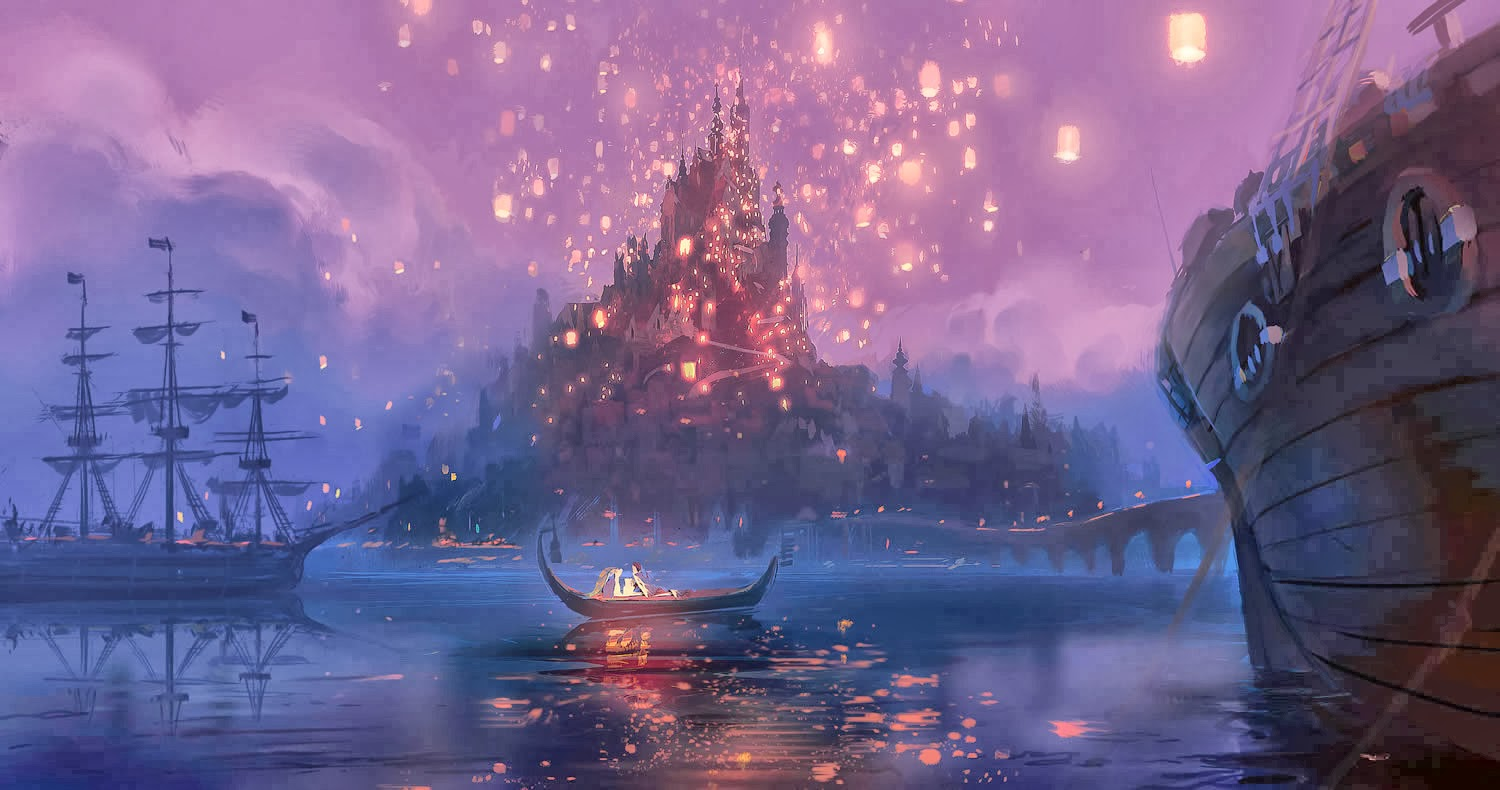 Disney Tangled Wallpaper 1500x790
