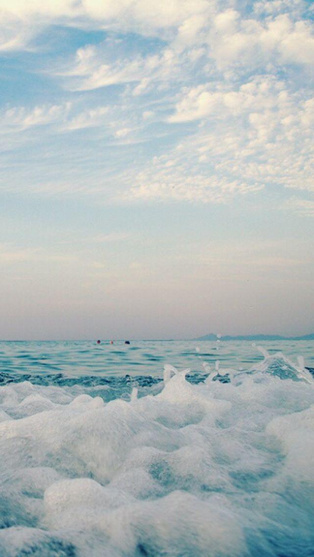 Ocean iphone wallpaper Beach Pinterest 640x1136