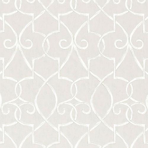Hampton Lattice Wallpaper in Grey   Geometric Wallpaper   Wallpaper 500x500