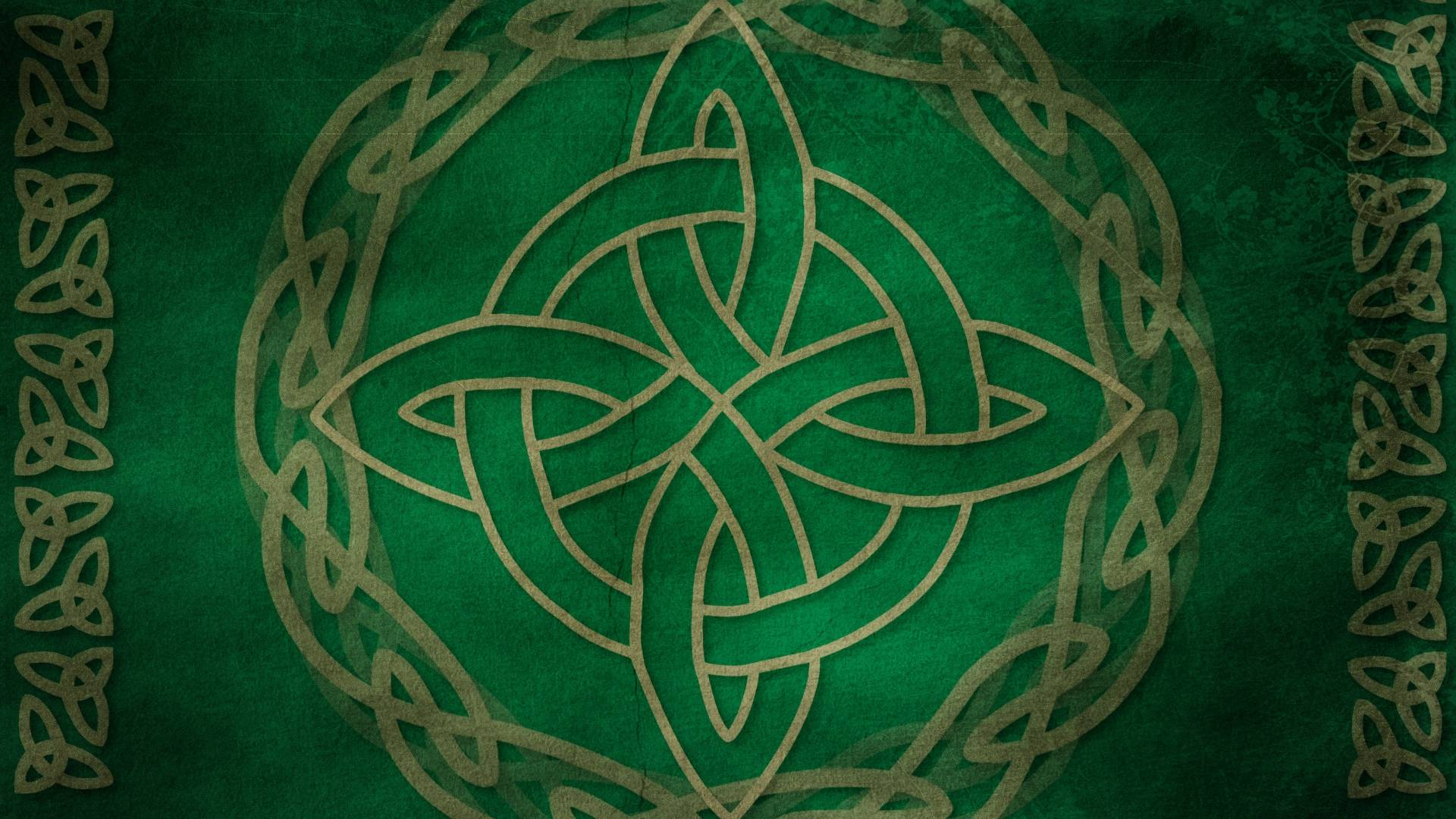 Green Celtic Cross Wallpaper   Viewing Gallery 1920x1080