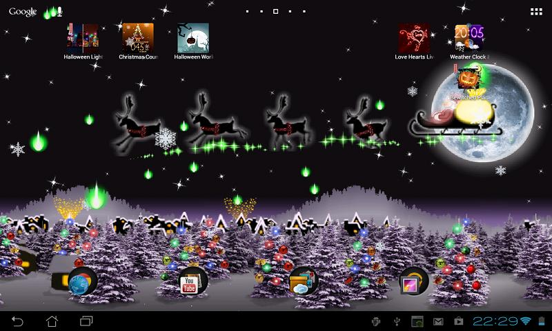Christmas Live Wallpaper   Android Apps on Google Play 800x480