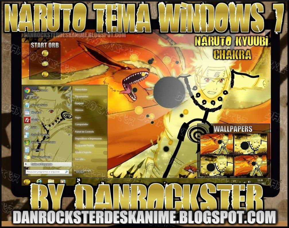 Download Naruto Theme Dan Wallpaper Untuk Windows 7 Klik Kanan 1007x793