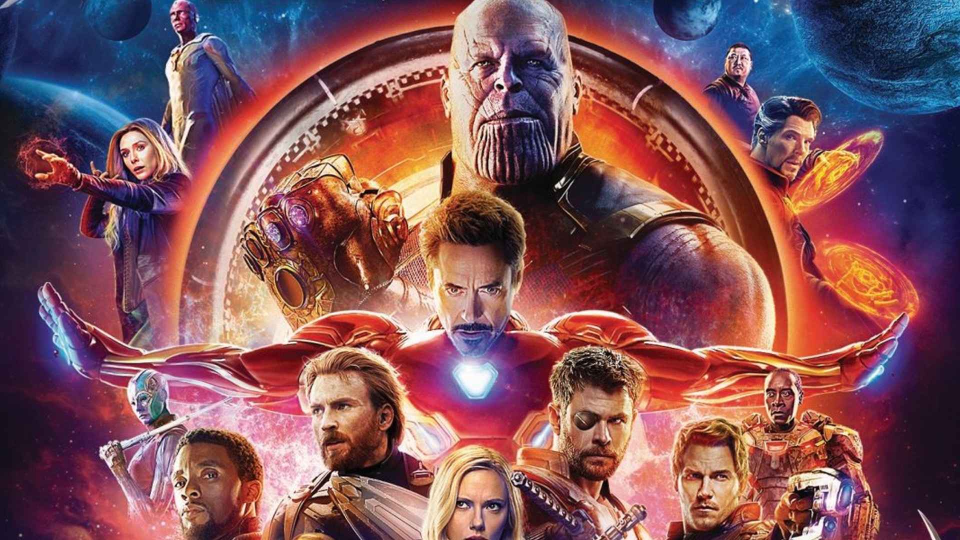 Marvel Releases Details on AVENGERS INFINITY WAR Blu ray 4K and 1920x1080
