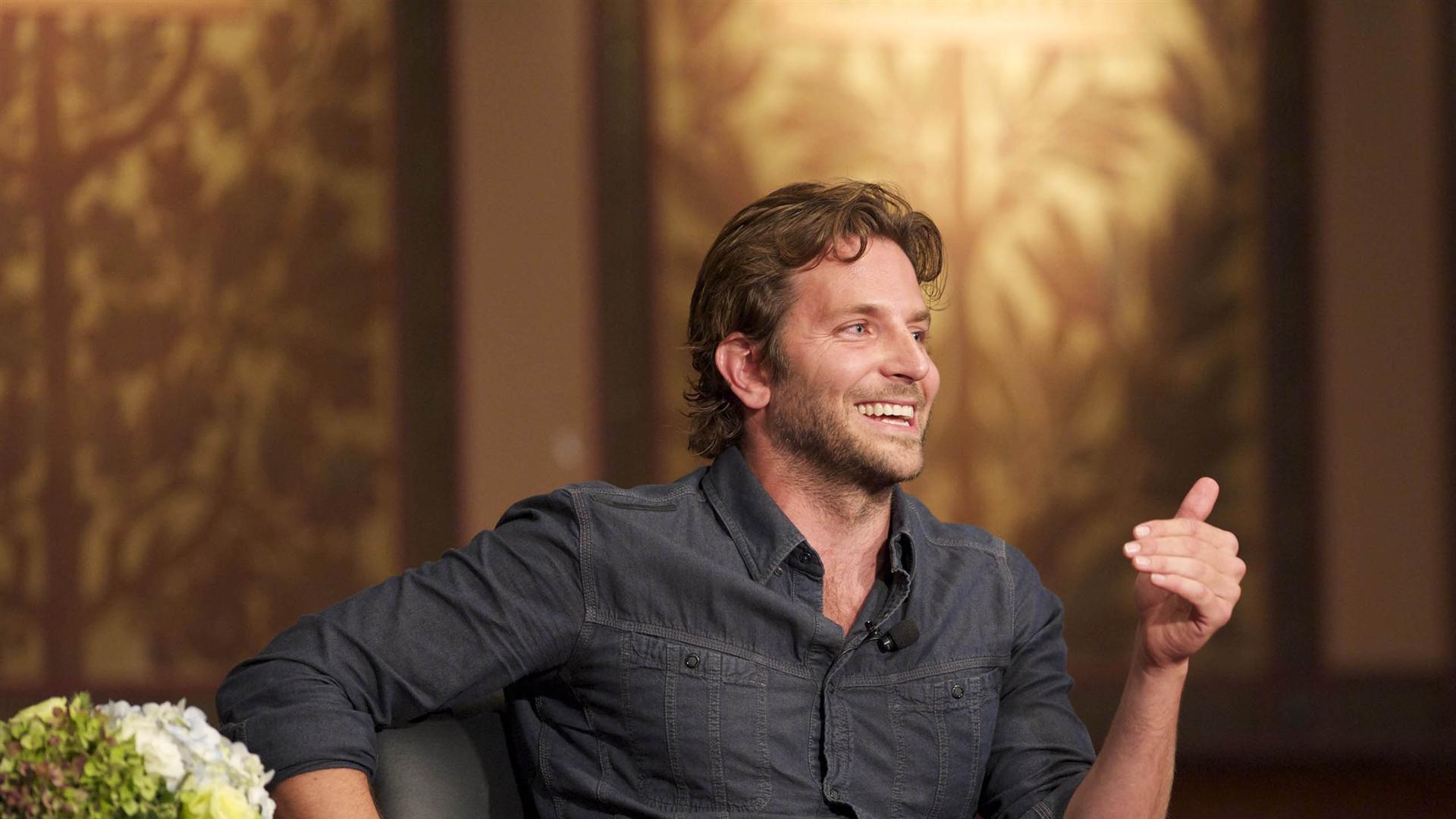 Bradley Cooper on Talk Show Full HD Desktop Wallpapers 1080p 1920x1080