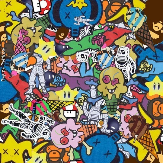 Ice Cream Cone Cool Wallpapers Hd Desktop Wallpaper: Cartoon Graffiti Wallpapers