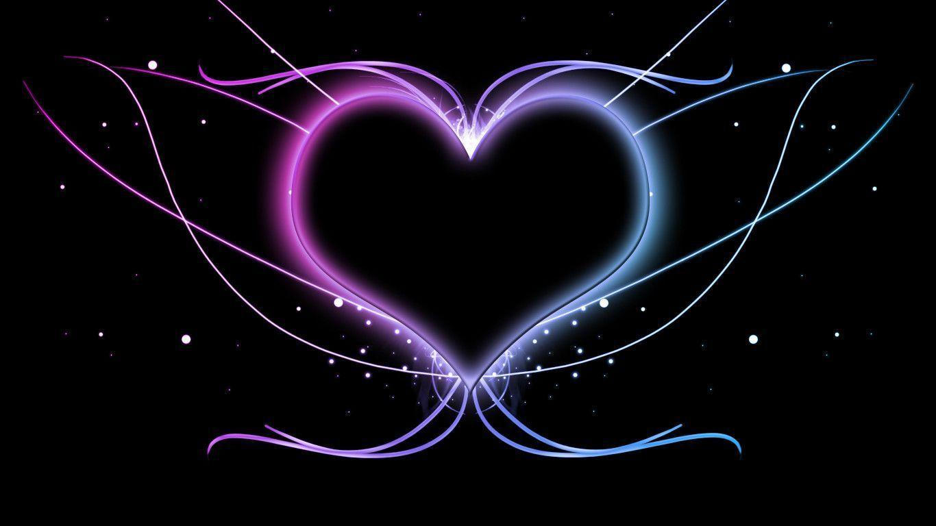 Awesome Heart Wallpapers   Top Awesome Heart Backgrounds 1366x768