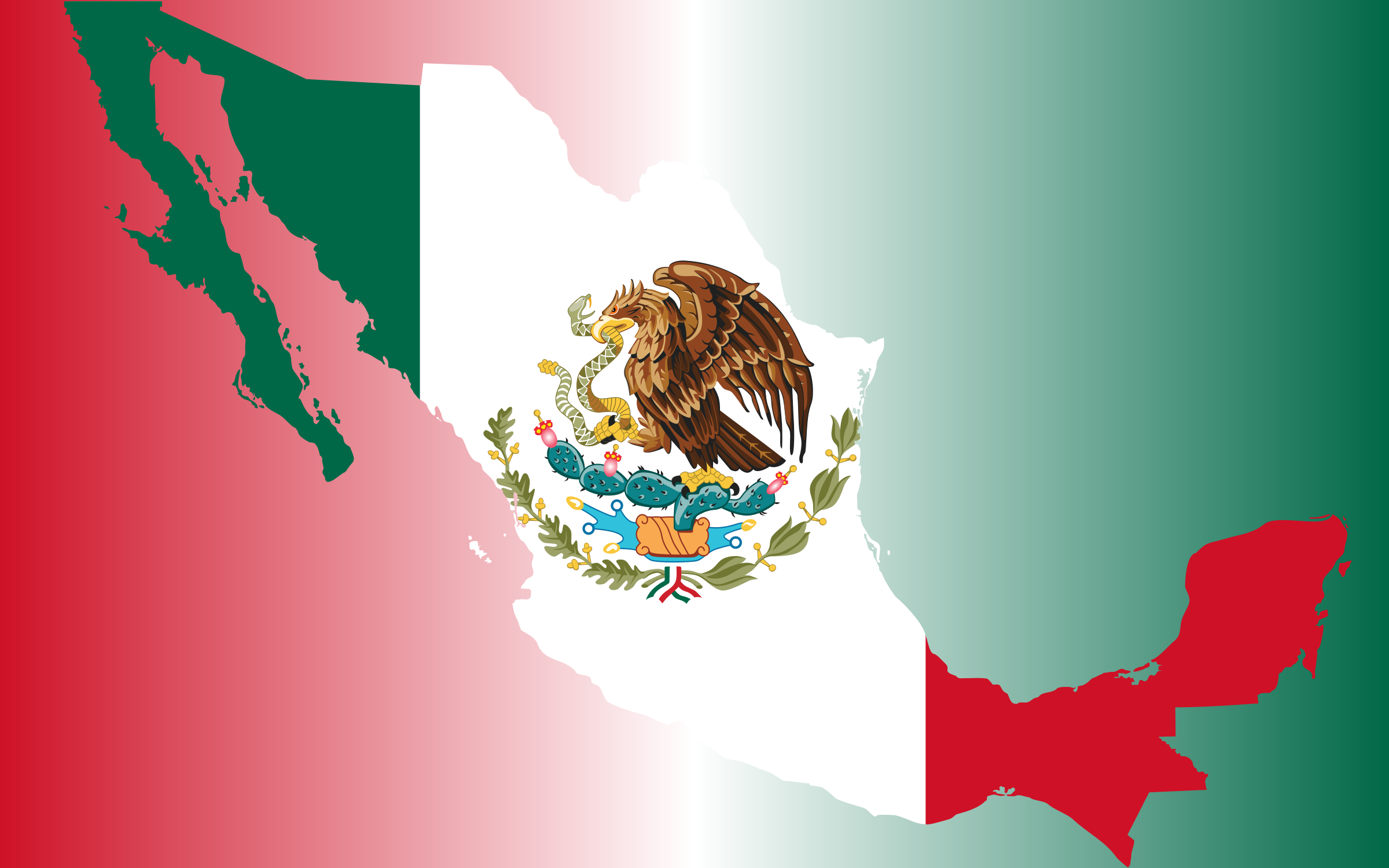 Mexican flag mexico flag clipart no background clipartfest 2400x1500