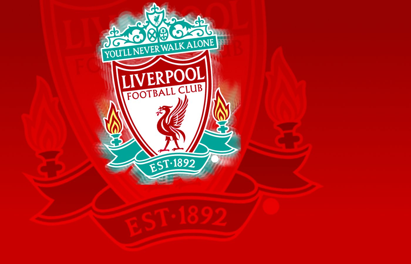 Liverpool FC Badge Wallpaper by ry1220 1400x900