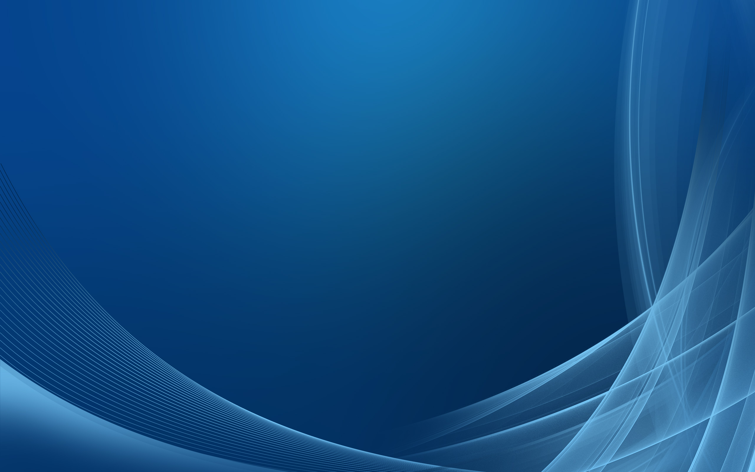 HQ Blue Abstract Wallpaper 2560x1600