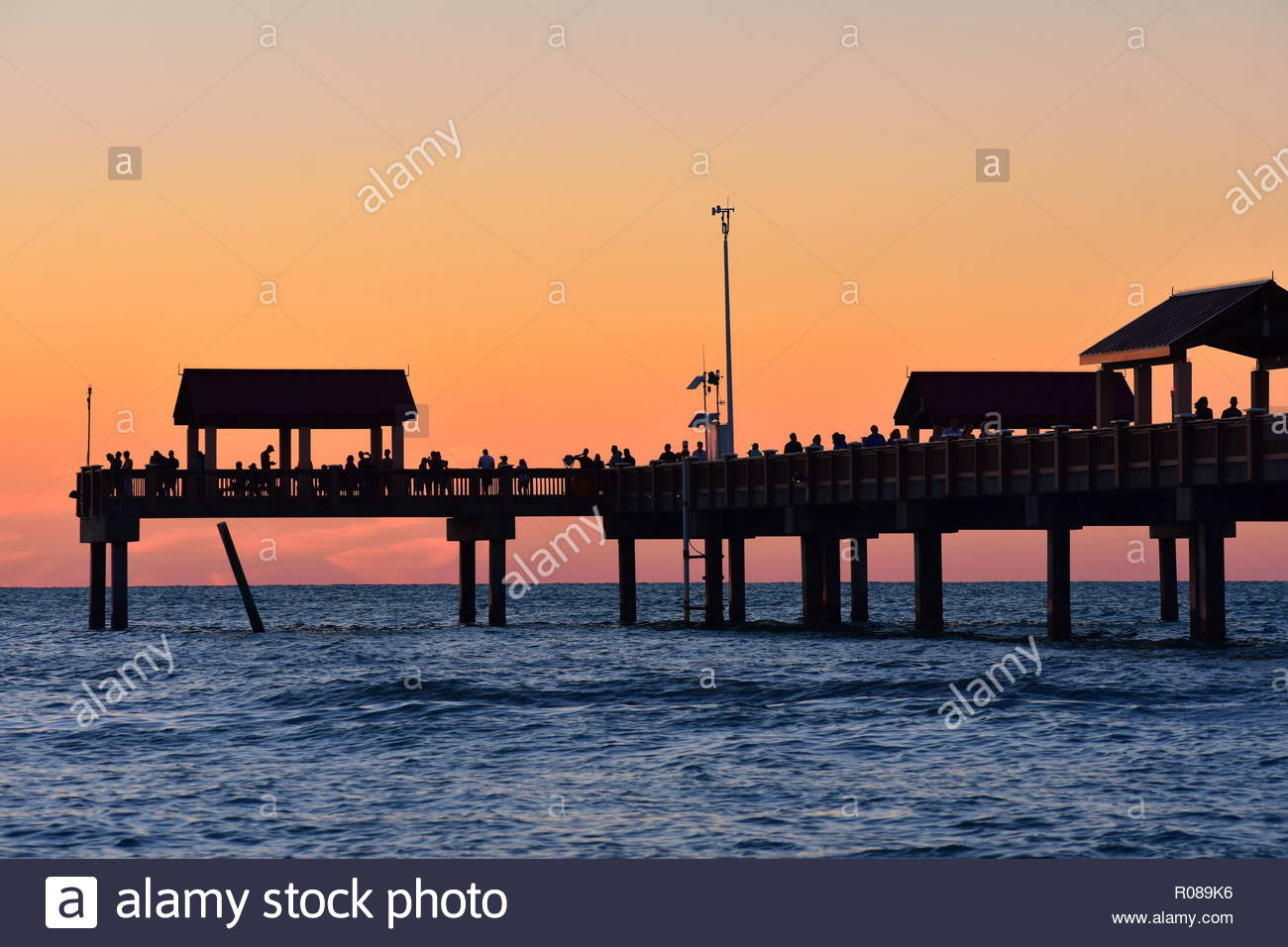 Clearwater Florida October 212018 Pier 60 on colorful sunset 1300x956