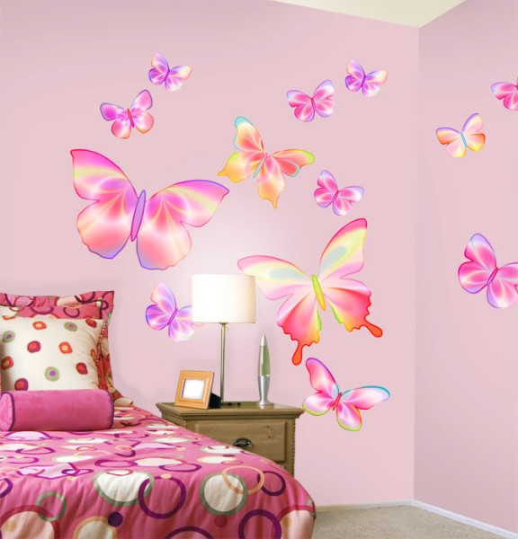 dolfi butterflies decorations romantic butterfly theme.htm 48   butterfly wallpaper for girls room on wallpapersafari  48   butterfly wallpaper for girls room