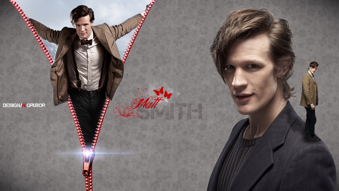 Matt Smith wallpaper by ngrubor 1191x670