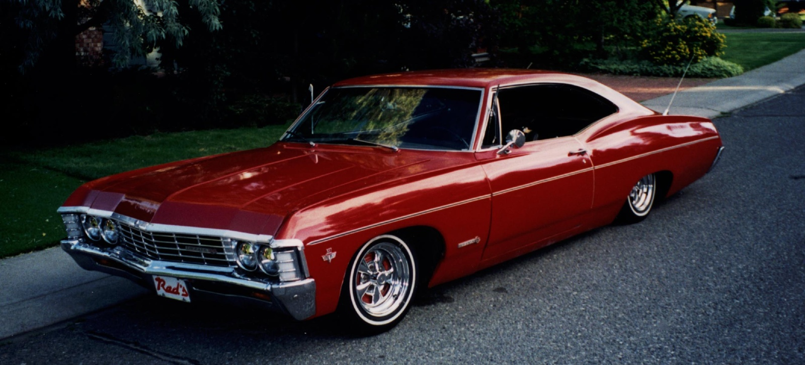 Pics For 1967 Chevy Impala Ss Wallpaper 1600x727