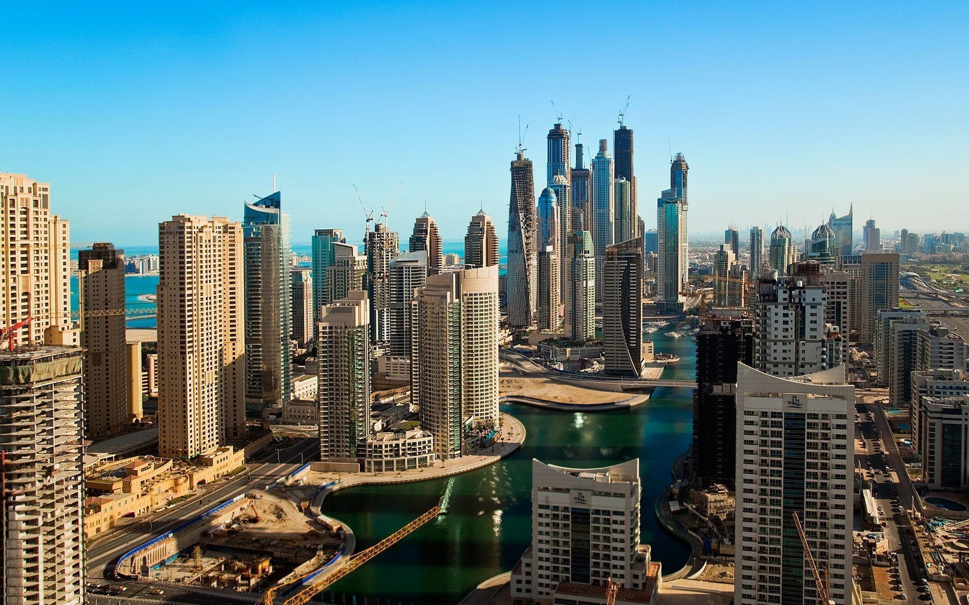Dubai Cityscape   Wallpaper 33867 1920x1200