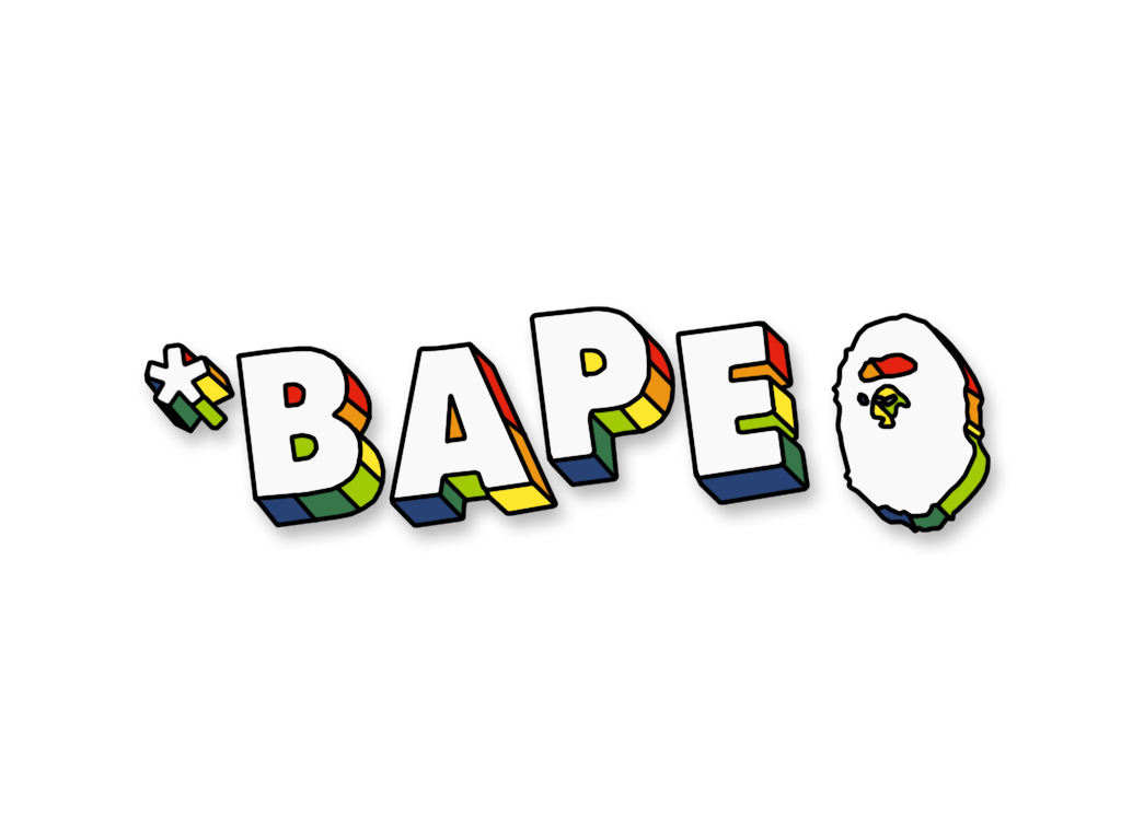 Bape White Background 1024x768