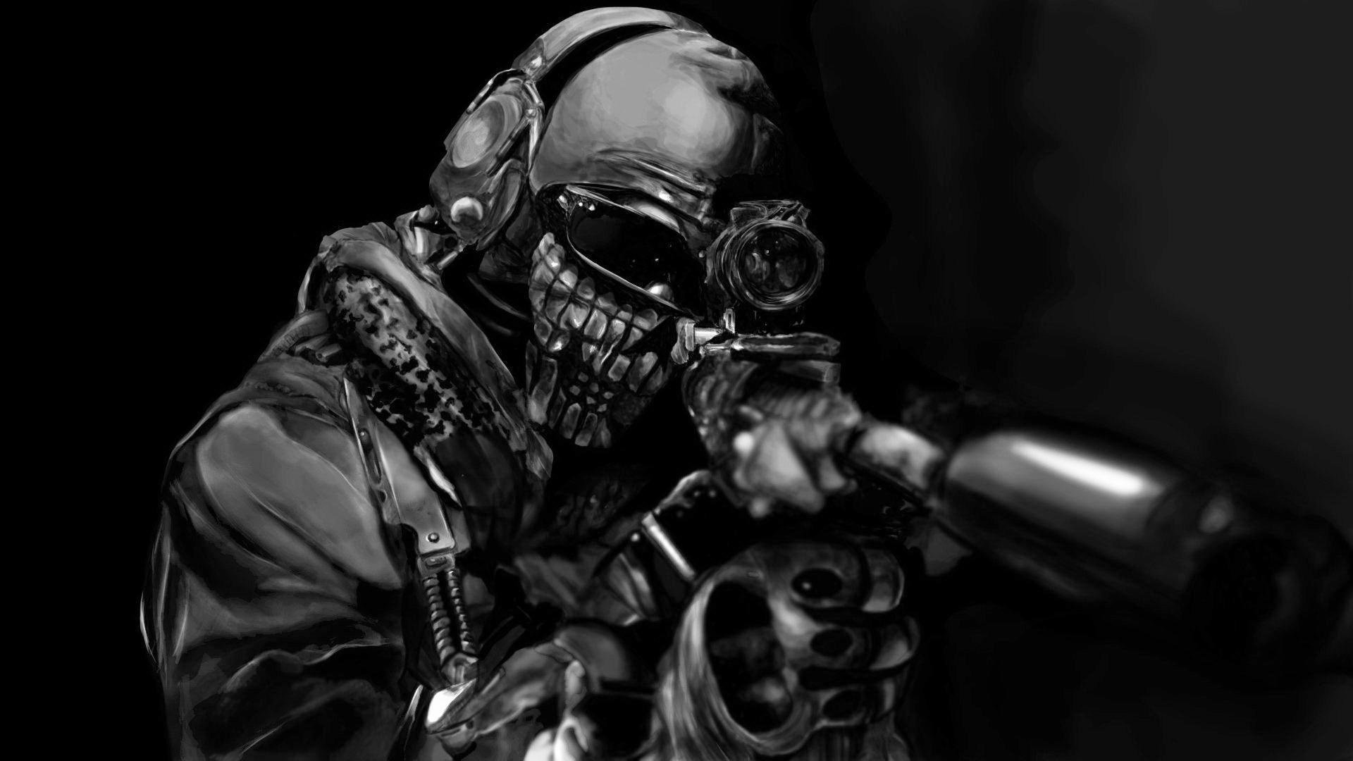 Free Download Cod Ghosts Wallpaper Skull Viewing Gallery