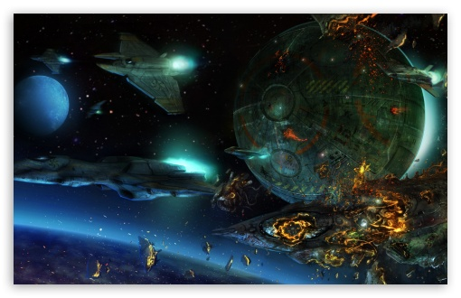 Space War wallpaper 510x330
