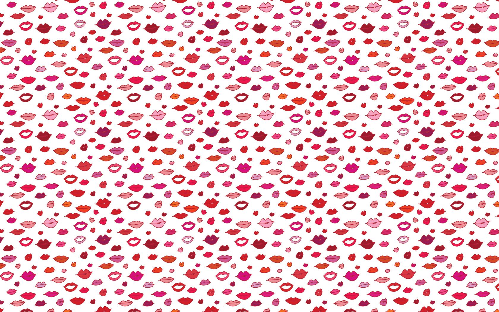 pc wallpaper lips 1680x1050