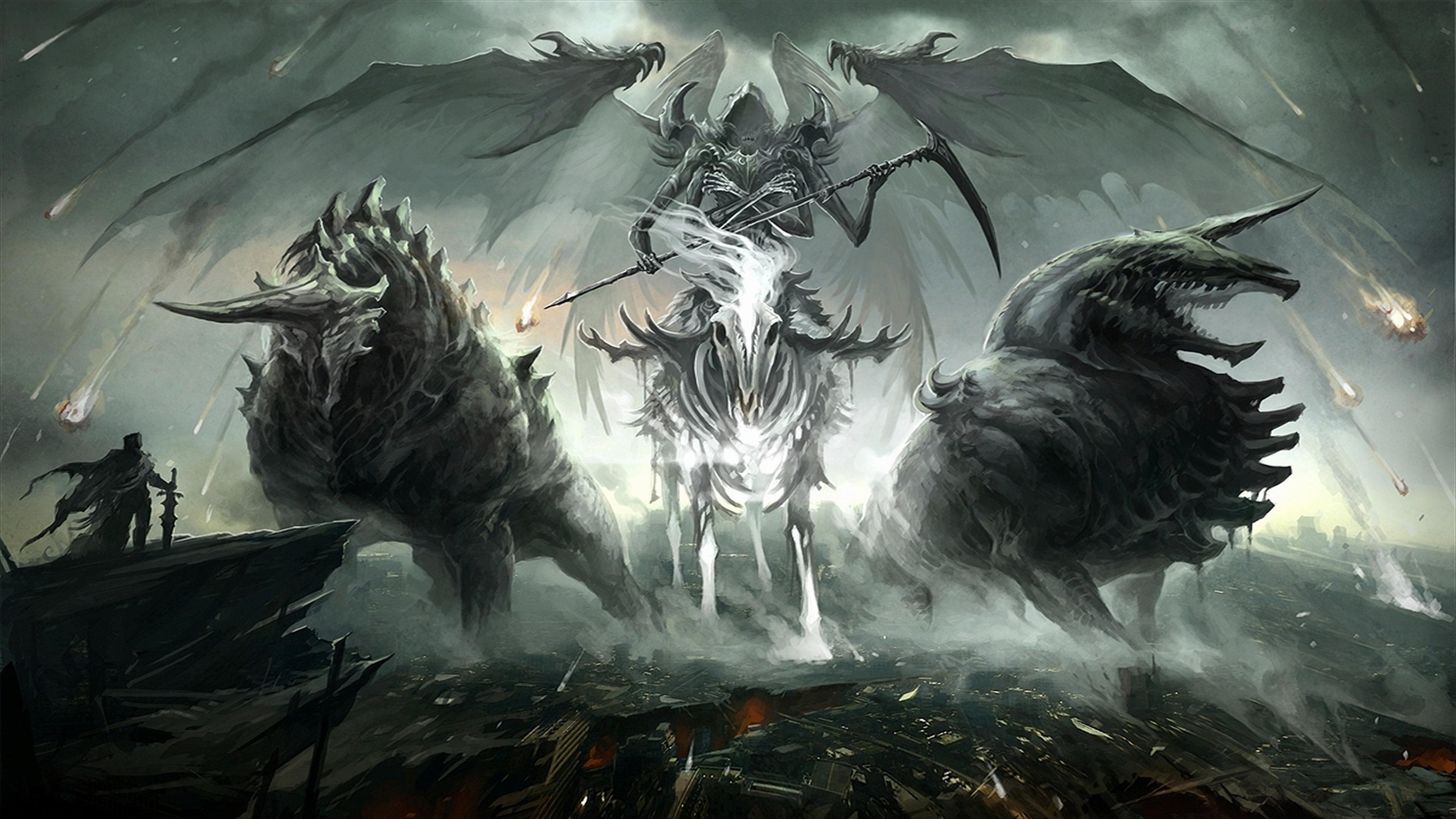 Grim Reaper Computer Wallpapers Desktop Backgrounds 3840x2160 ID 3840x2160