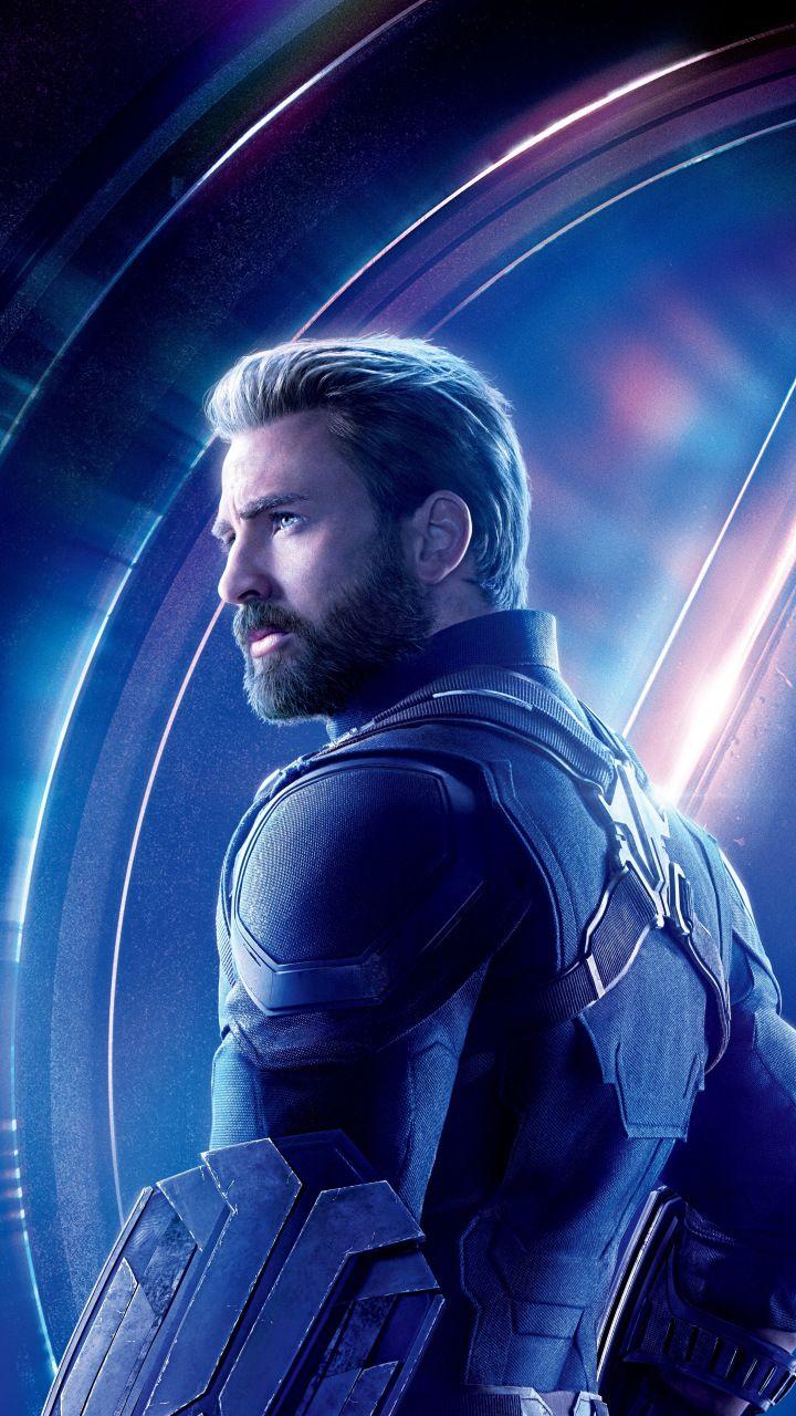 Avengers infinity war Chris Evans steve rogers Captain America 720x1280