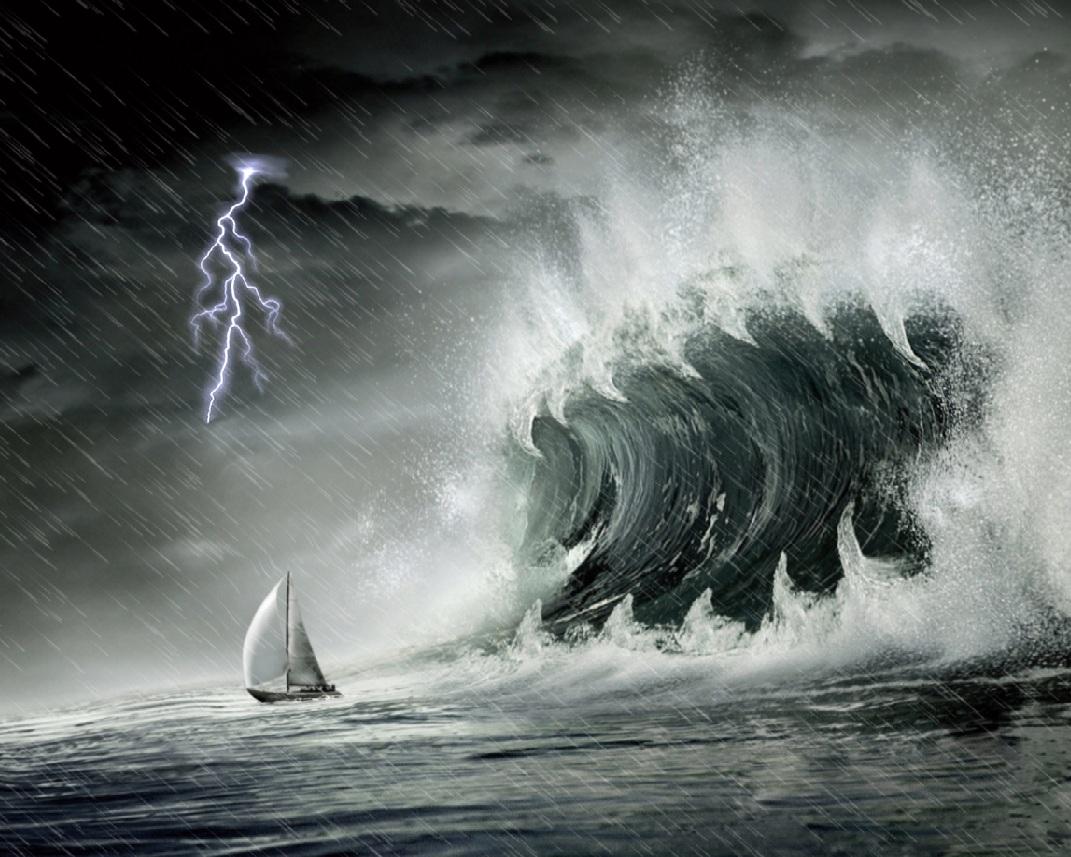 Download Ocean Storm Screensaver Screensavergiftcom 1071x857