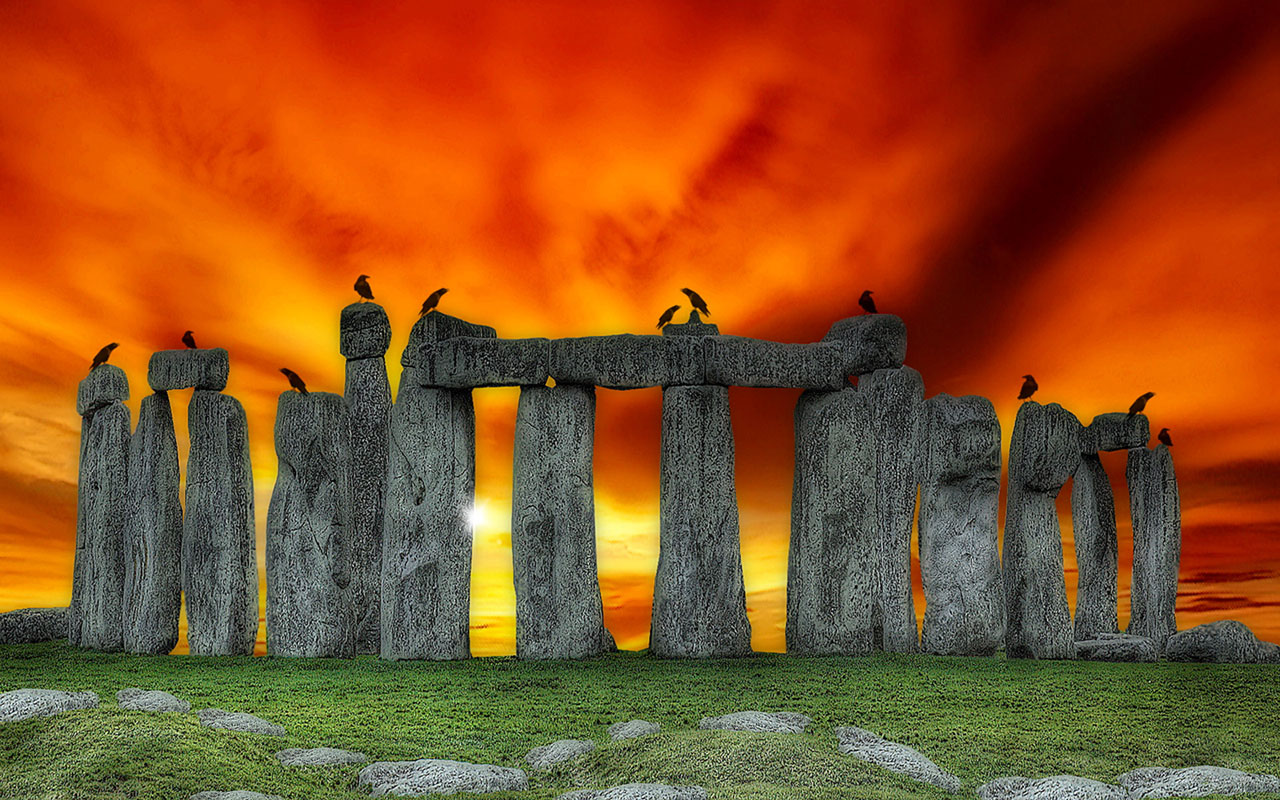 High Definition Photography Wallpaper: Stonehenge Wallpaper High Definition