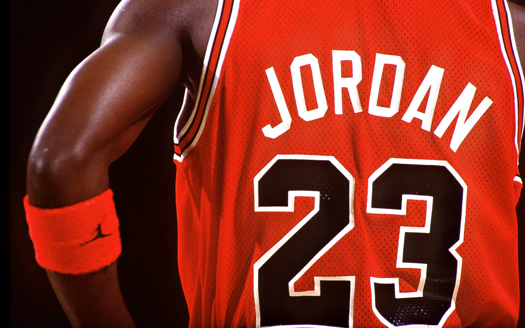 michael jordan jersey number 23