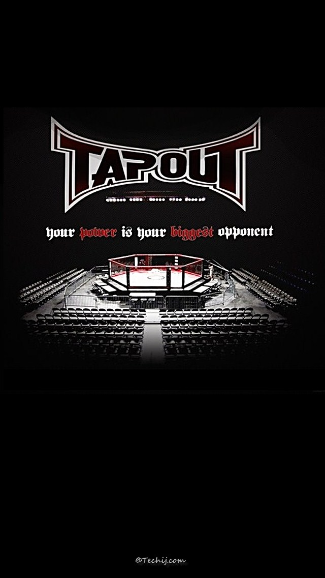 UFC Tapout Your Power is Your Biggest Opponent 640x1136