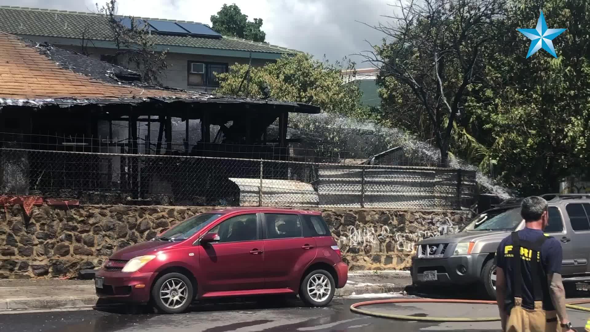 Kalihi home destroyed after stove left on Honolulu Star Advertiser 1920x1080
