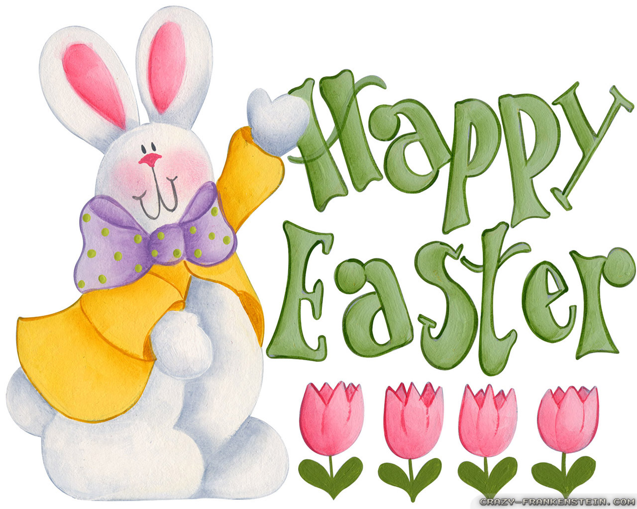 Pin Happy Easter Bunny Wallpaper 1280x1024