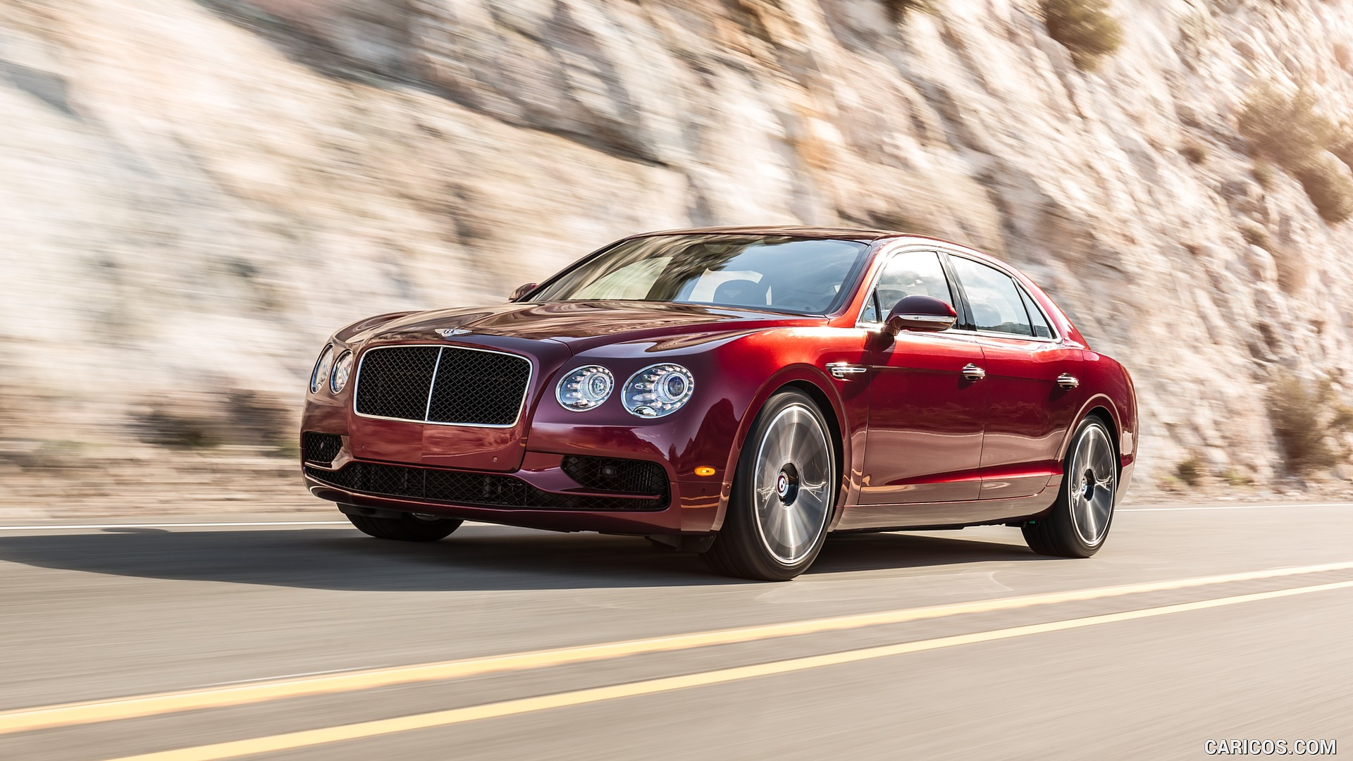 2017 Bentley Flying Spur V8 S   Front HD Wallpaper 1 1920x1080 1920x1080