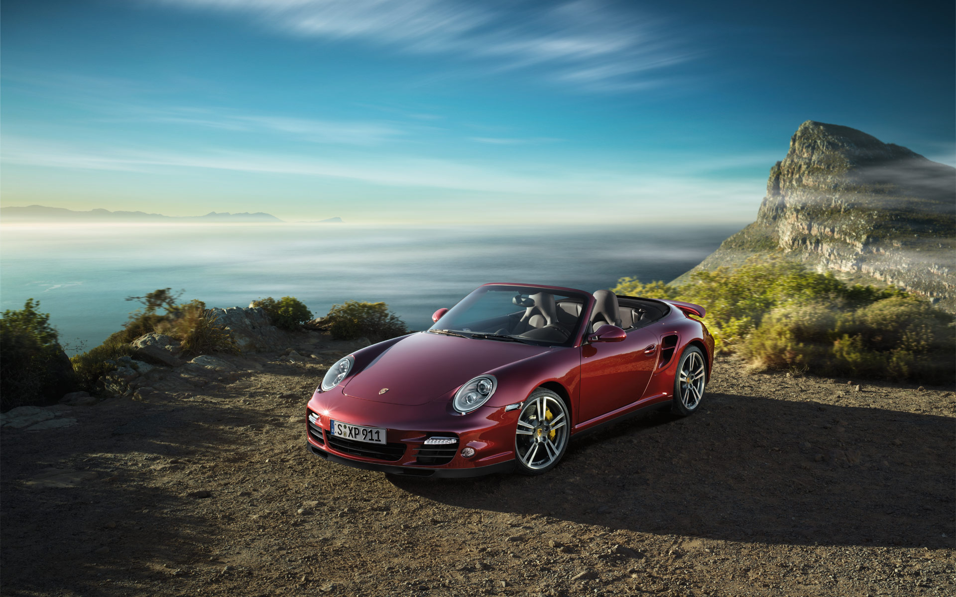 Porsche 911 Turbo Cabriolet 2 Facebook Covers Car Wallpapers HD 1920x1200