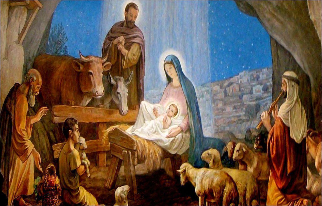 Christmas Nativity Wallpapers 1318x844