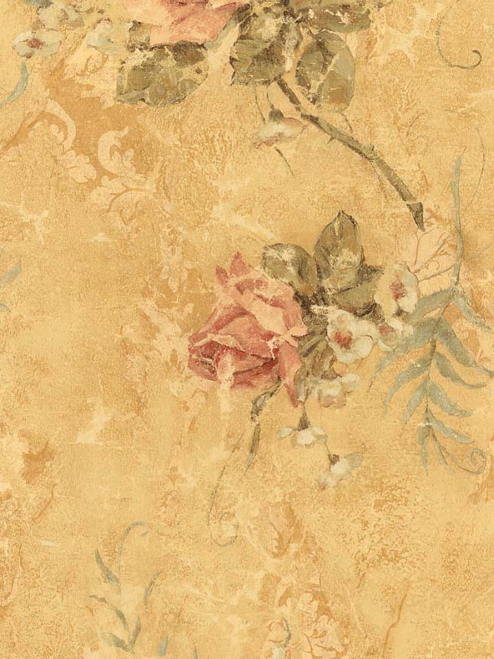 TUSCANY FLORAL WALLPAPER   203D 206C   57512 720x960