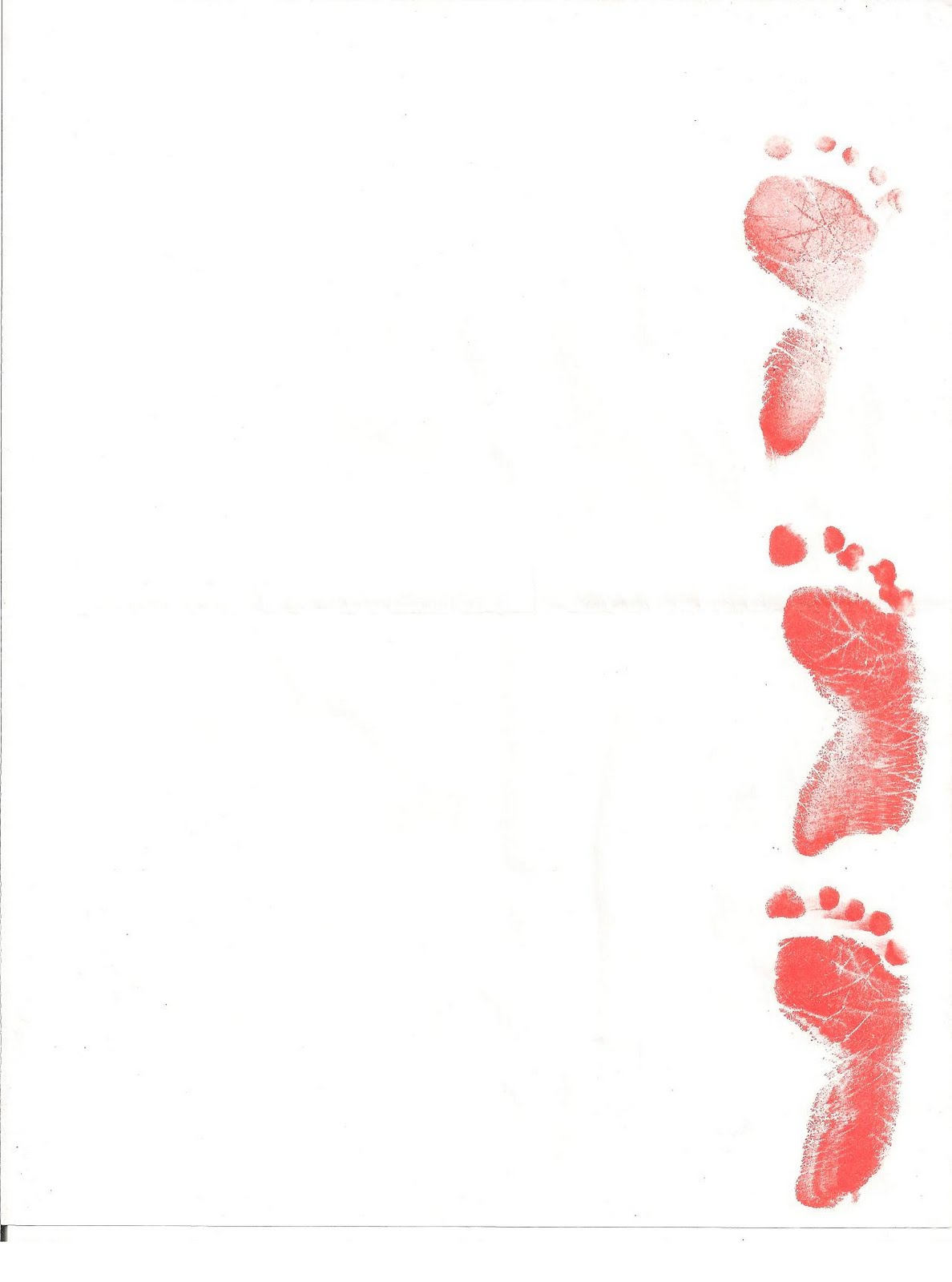 Baby Footprints Background Baby footprints 1188x1600