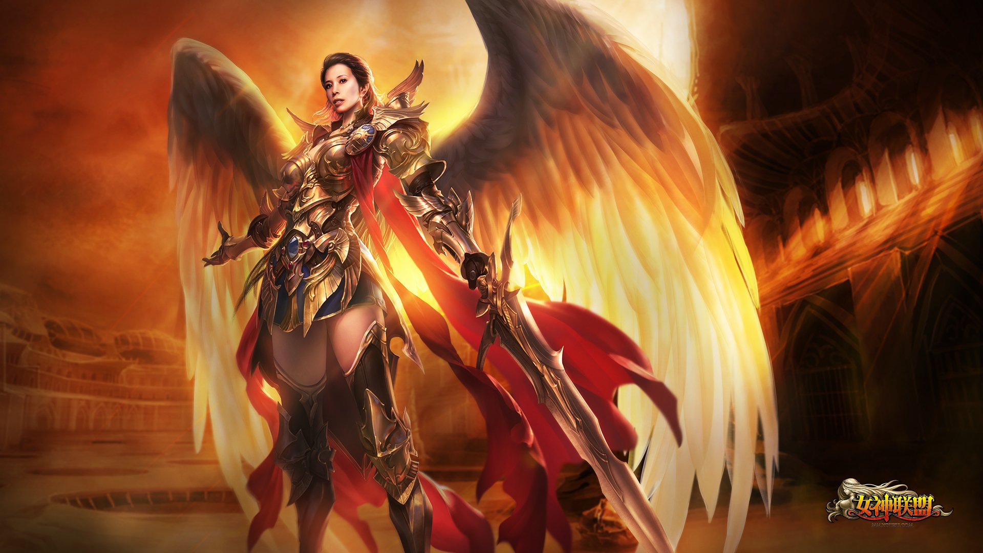 LEAGUE Of ANGELS loa fantasy mmo rpg online 1loa fighting action angel 1920x1080