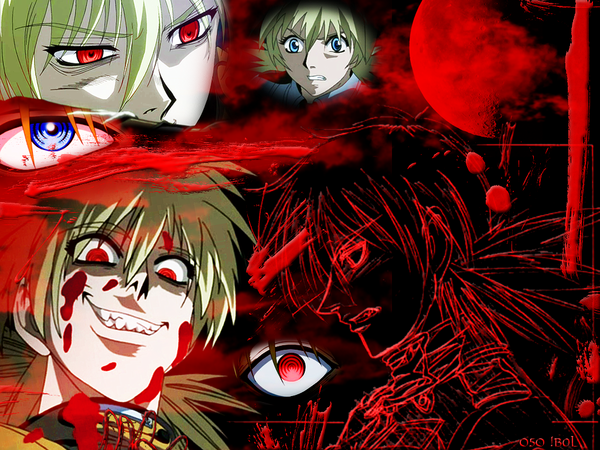 Seras Victoria Wallpaper by PsyBear 600x450