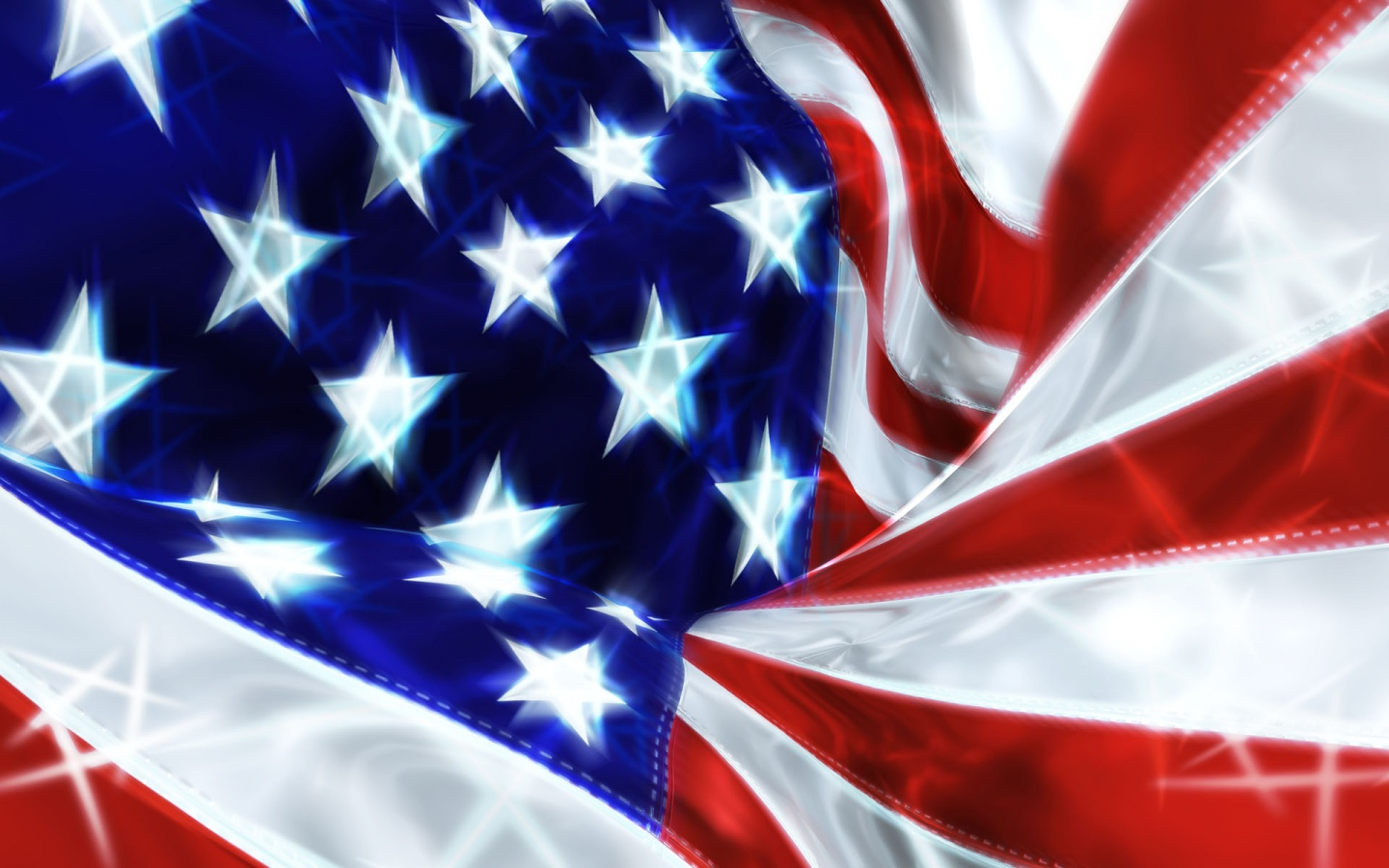 1440x900 USA Flag Celebration desktop PC and Mac wallpaper 1440x900
