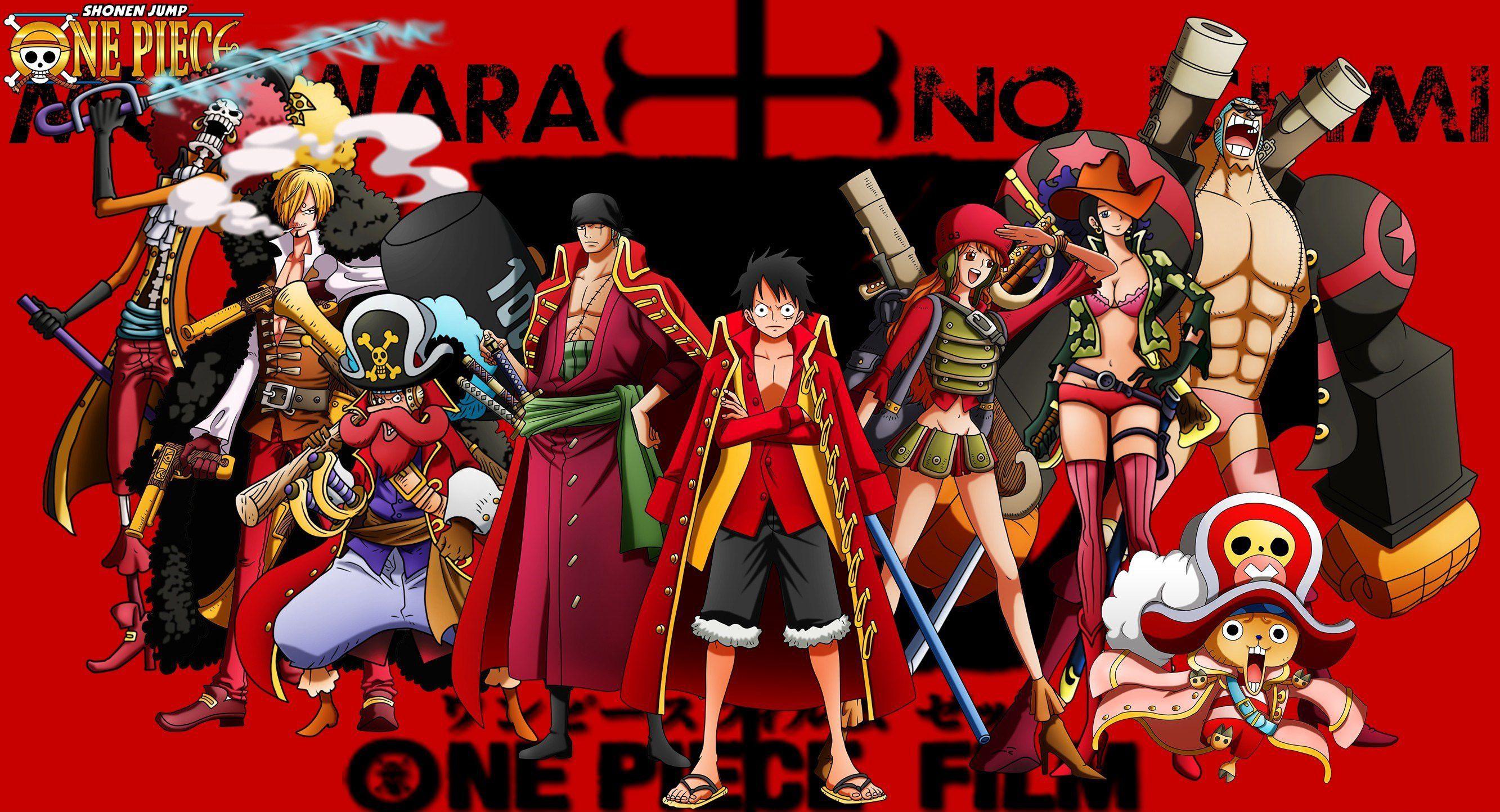 One Piece Background Desktop 2666x1444