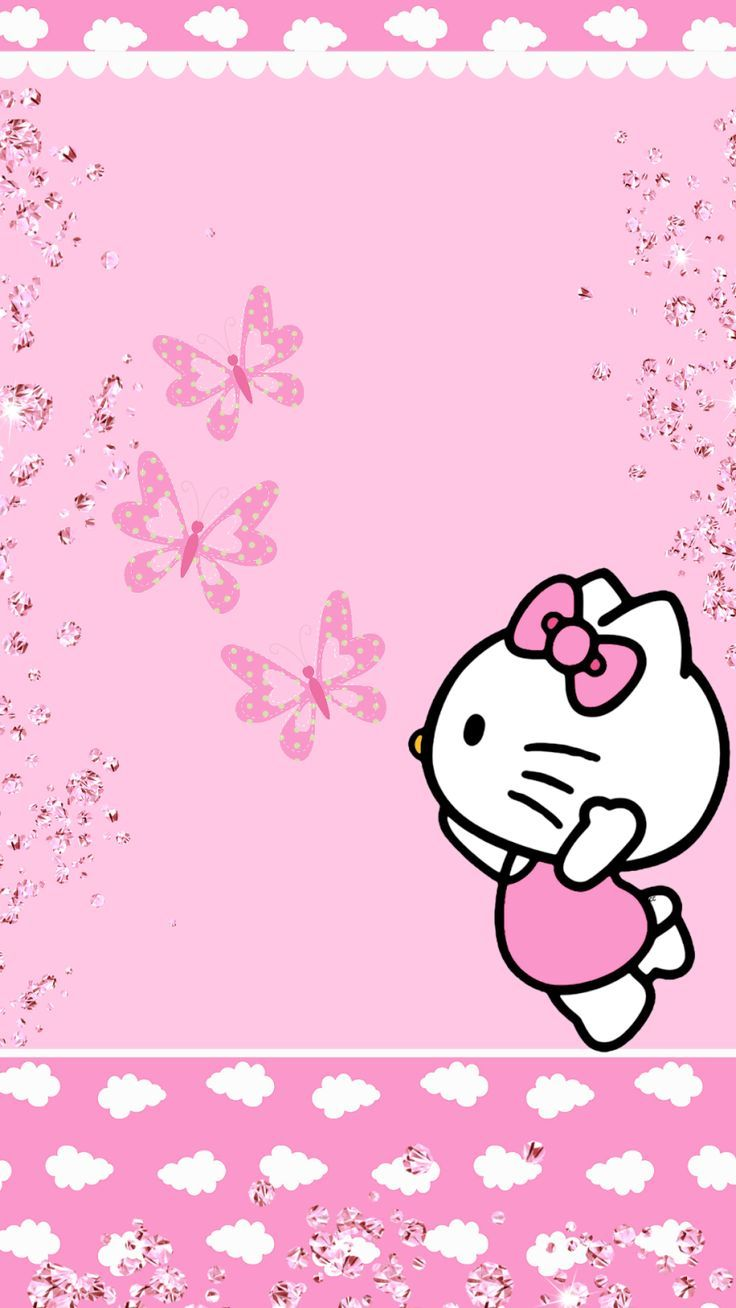 Free Download Pink Hello Kitty Wallpapers Top Pink Hello
