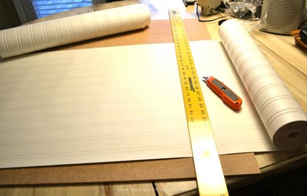 How to Apply Beadboard Wallpaper   Sondra Lyn at Home 600x383