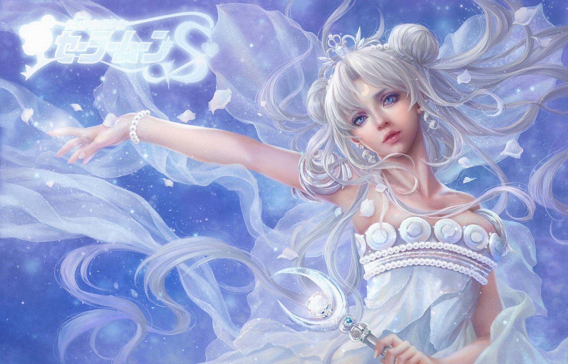 33 Anime Moon Princess Wallpapers On Wallpapersafari