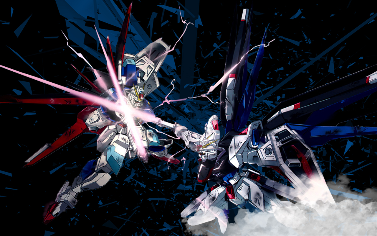 Gundam Seed Destiny Wallpaper by ShaunBaker 1280x800