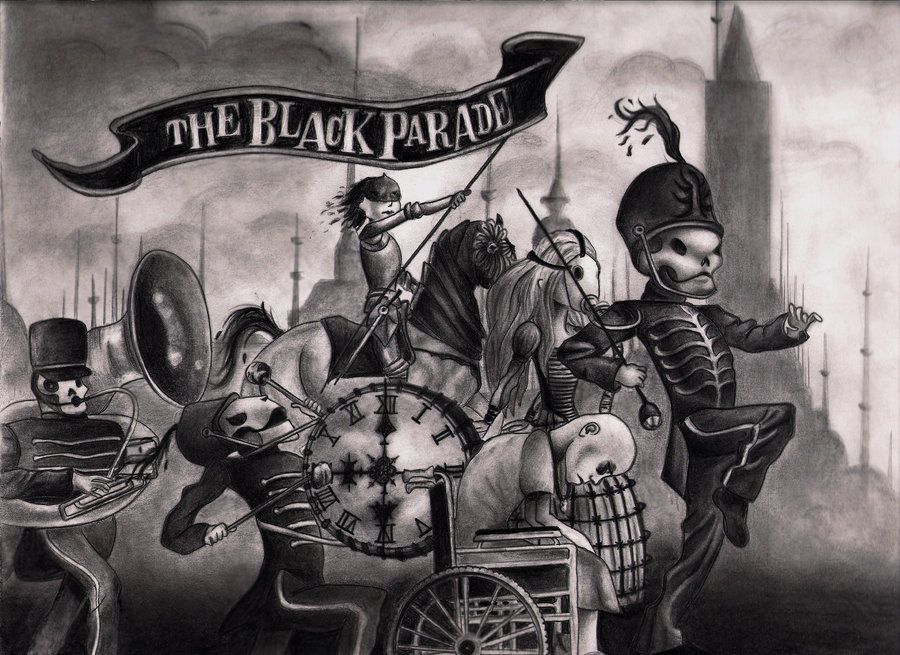 welcome to the black parade wallpaper   Google Search MCR 900x655