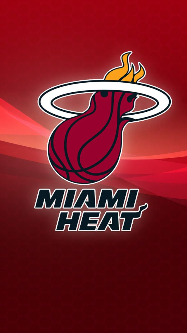 Download NBA Miami Heat HD iPhone 5 Wallpapers HD 640x1136