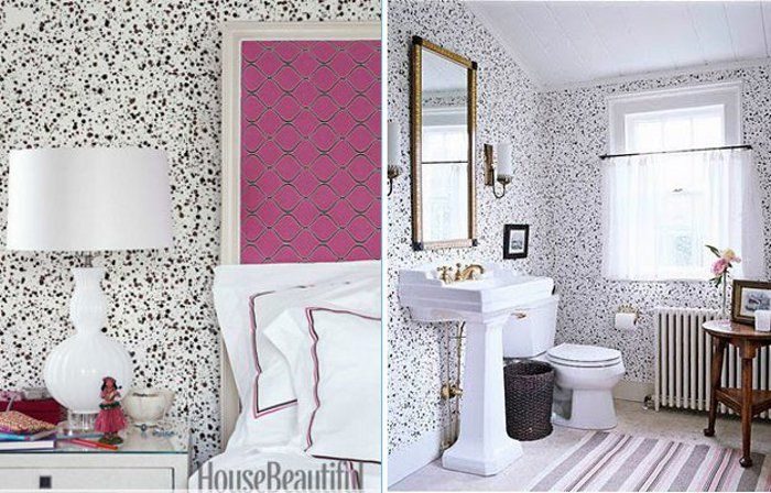 Hinsons Splatter wallpaper wallpaper Pinterest 700x448
