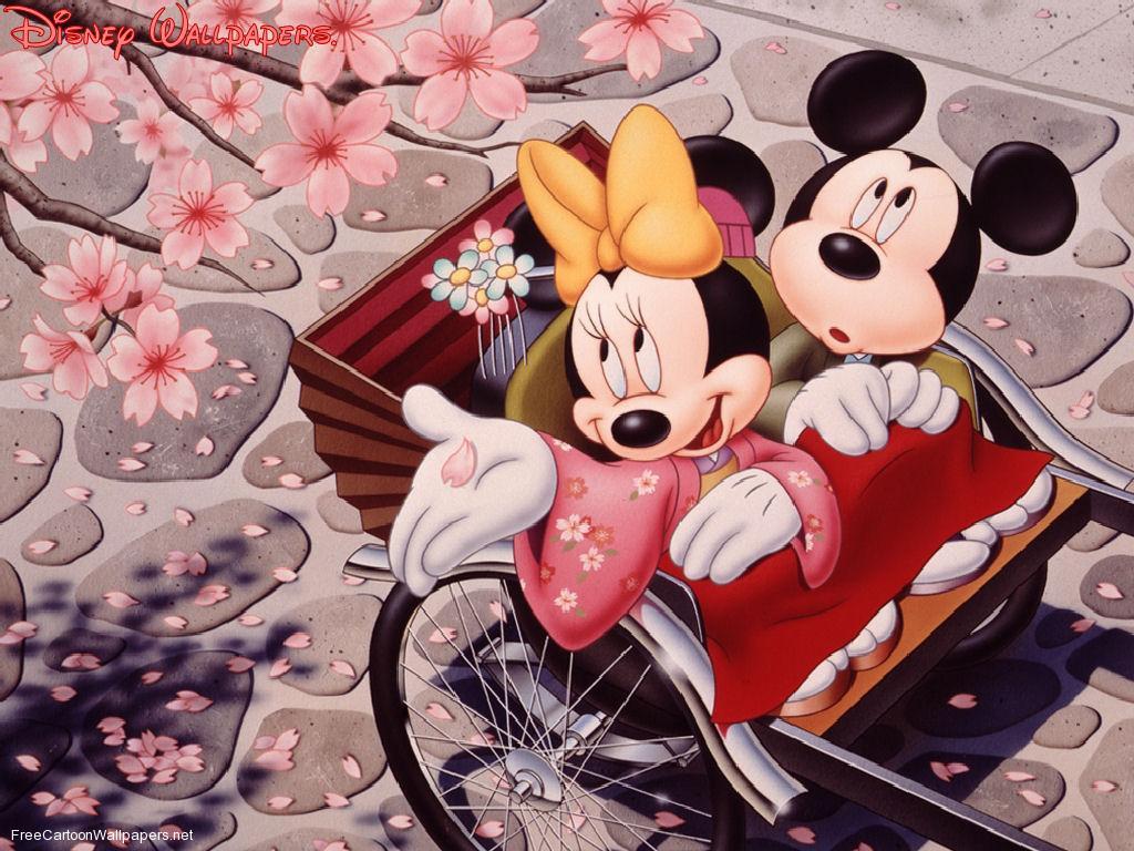 50 Free Mickey And Minnie Wallpaper On Wallpapersafari