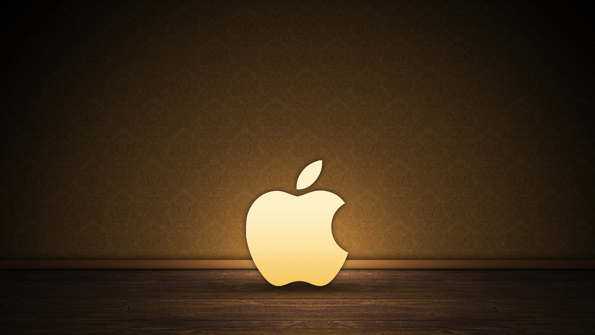 Brown Apple logo   High Definition Wallpapers   HD wallpapers 1920x1080